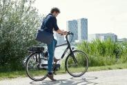 e-fietsen het populairst in het oosten